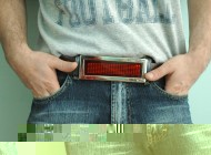 Scrolling Belt Buckle