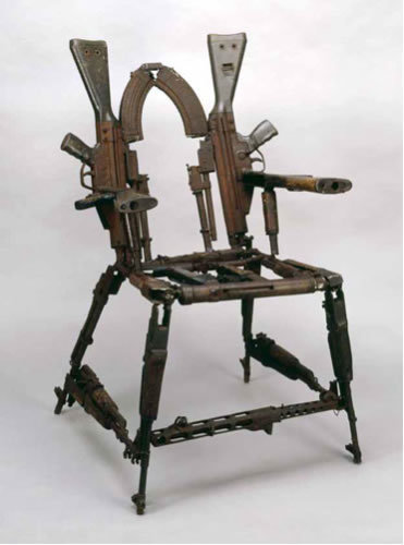 AK-47 Chair