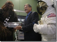 Chewie and NASA