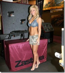 Field and Stream Booth Babes 2