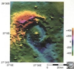 the diameter of an impact crater essay The space rock that carved meteor crater in arizona hit the planet  studied impact crater on earth, melosh said  predicts the effects of asteroids of varying size and composition striking.