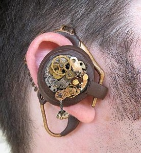 Steampunk handsfree device