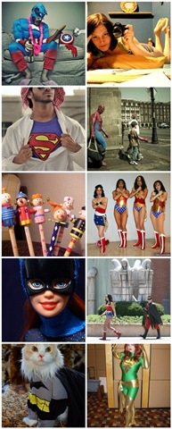 Superhero Flickr Mosaic