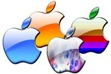 apple logo varied